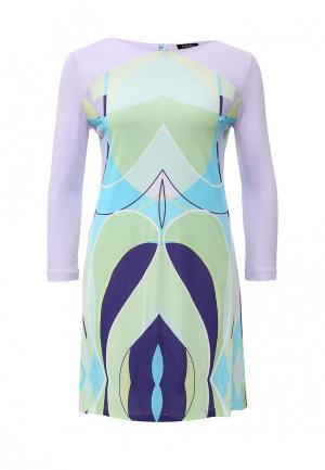 Платье Byblos. Цвет: разноцветный