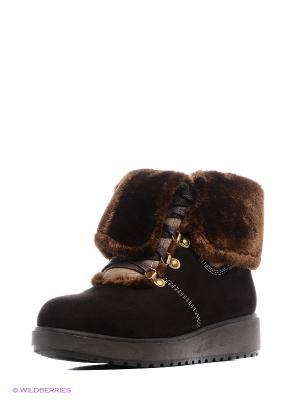 Ботинки Wilmar. Цвет: темно-коричневый