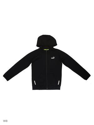 Толстовка SPORTS STYLE Hooded Jacket Puma. Цвет: черный