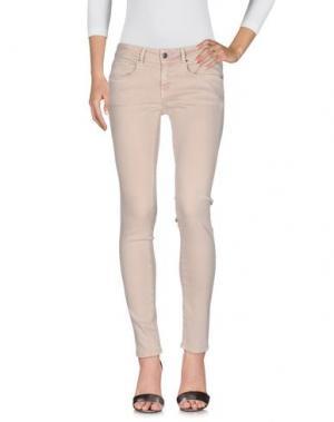 Джинсовые брюки CIMARRON. Цвет: бежевый