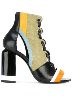 Босоножки со шнуровкой Pierre Hardy. Цвет: многоцветный