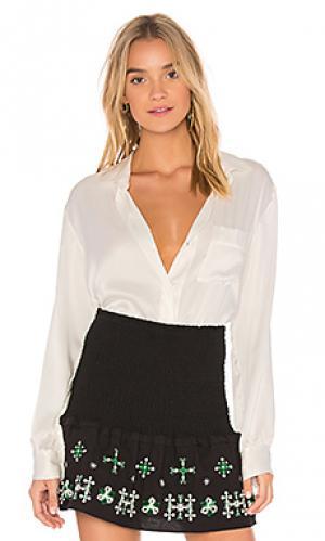 Рубашка с воротником essential Flannel Australia. Цвет: белый