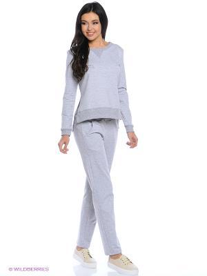 Спортивный костюм FORLIFE. Цвет: серый