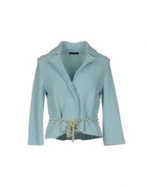 Пиджак ANNECLAIRE. Цвет: лазурный