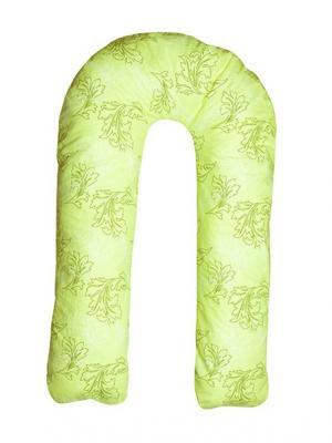 Подушка для беременных Здоровье и комфорт. Цвет: зеленый