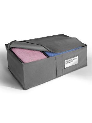 Ящик для хранения вещей Miolla. Цвет: серый