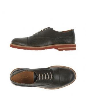Обувь на шнурках GABARDINE. Цвет: темно-зеленый