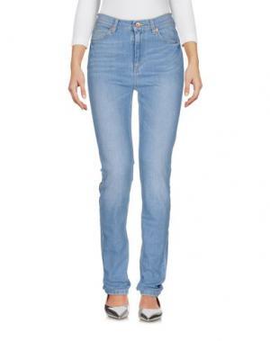 Джинсовые брюки BELLEROSE. Цвет: синий