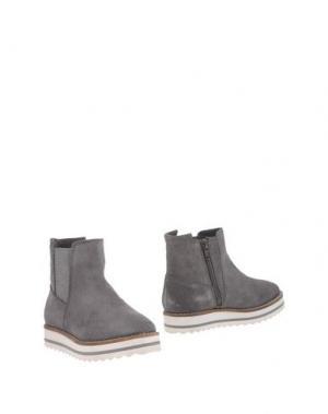 Полусапоги и высокие ботинки OCA-LOCA. Цвет: серый