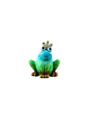 Садовая фигура - Лягушонок Marquis. Цвет: голубой, зеленый