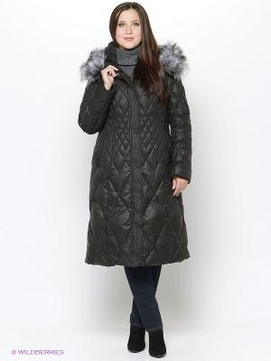 Пальто Vlasta. Цвет: черный