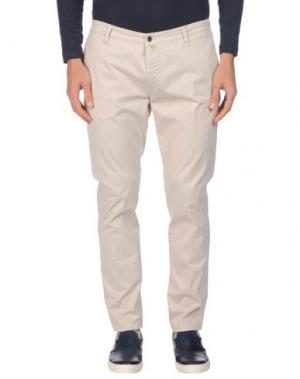 Повседневные брюки BRIGLIA 1949. Цвет: бежевый