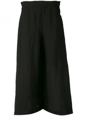 Широкие брюки Loewe. Цвет: чёрный