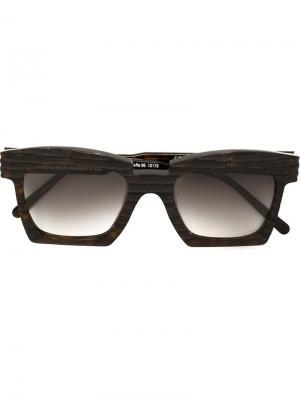 Солнцезащитные очки K5 Kuboraum. Цвет: коричневый