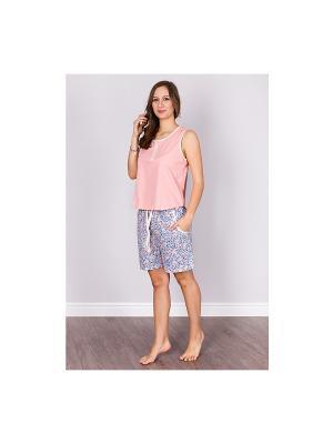 Пижама Sis. Цвет: персиковый