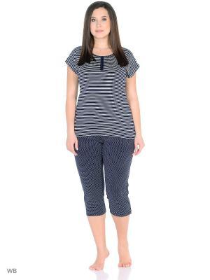 Пижама PRIMAVERINA. Цвет: синий