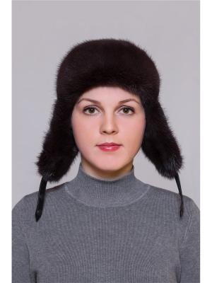 Шапка Slava Furs. Цвет: темно-фиолетовый