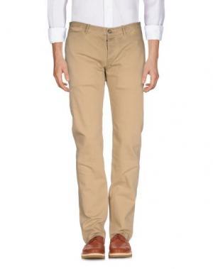 Повседневные брюки SMITH'S AMERICAN. Цвет: песочный
