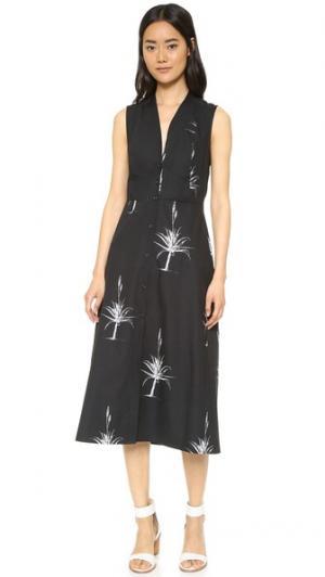 Платье Delta VEDA. Цвет: черный алоэ