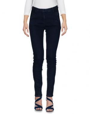 Джинсовые брюки MASSIMO REBECCHI. Цвет: синий