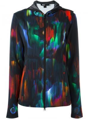Спортивная куртка Y-3. Цвет: многоцветный