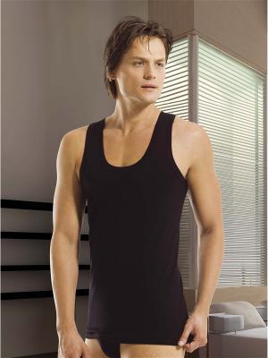 Мужская майка Oztas underwear. Цвет: черный