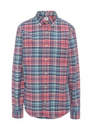 Рубашка Gap. Цвет: розовый