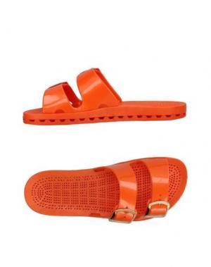 Домашние туфли SENSI. Цвет: оранжевый