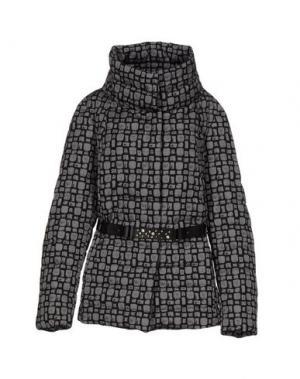 Куртка VIA DI CAMBIO. Цвет: серый