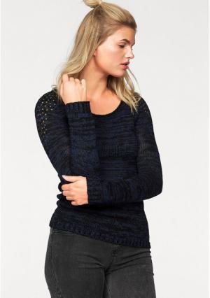Пуловер AJC. Цвет: темно-синий/черный
