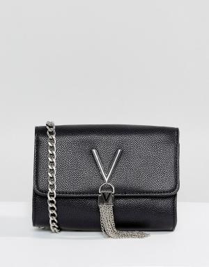 Valentino by Mario Сумка через плечо. Цвет: черный