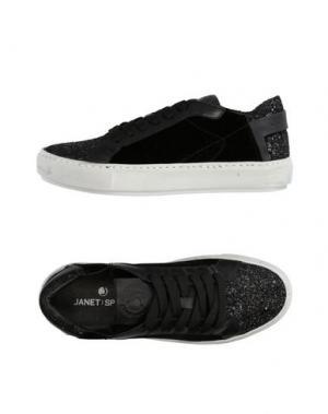Низкие кеды и кроссовки JANET SPORT. Цвет: черный