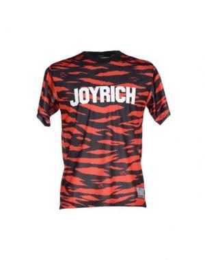 Футболка JOYRICH. Цвет: красный