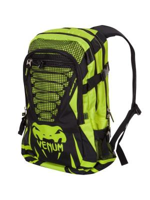 Рюкзак Venum Challenger Pro Backpack - Black/Yellow. Цвет: черный, желтый
