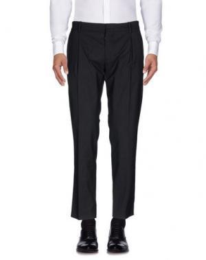 Повседневные брюки HōSIO. Цвет: стальной серый