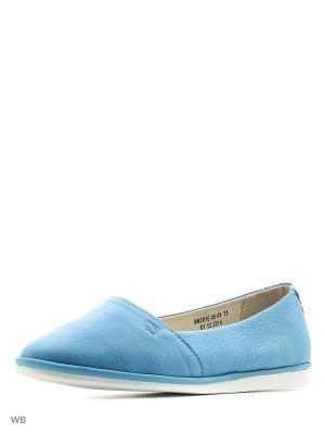 Туфли Spur. Цвет: синий