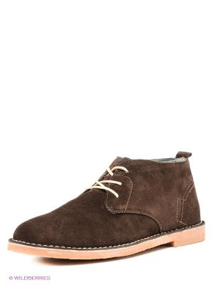 Ботинки Centro. Цвет: коричневый