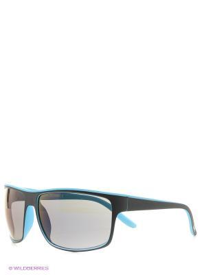 Солнцезащитные очки MS 01-324 18P Mario Rossi. Цвет: голубой, черный