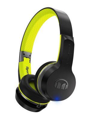 Наушники с микрофоном Monster iSport Freedom Bluetooth On-Ear Wireless, Black&Green. Цвет: черный, зеленый