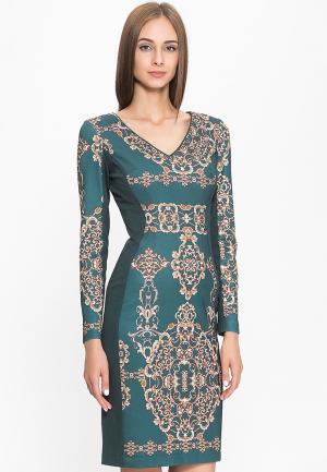 Платье Stella Di Mare. Цвет: зеленый
