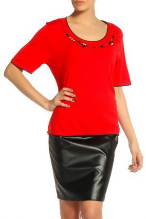 Блуза Elisa Fanti. Цвет: красный