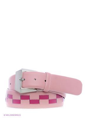 Ремень Stefania Morri. Цвет: розовый