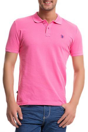 Футболка U.S. Polo Assn.. Цвет: vr082 розовый