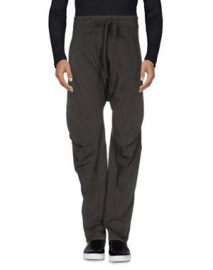Повседневные брюки LUMEN ET UMBRA. Цвет: свинцово-серый