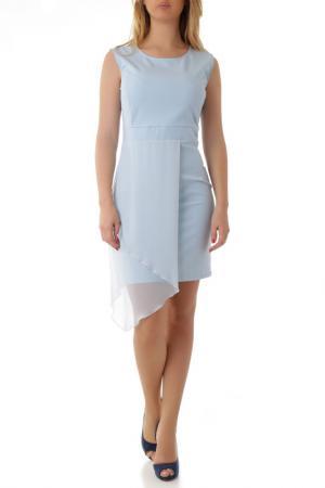 Платье Cristina Gavioli. Цвет: голубой