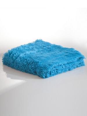 Плед Унисон. Цвет: голубой