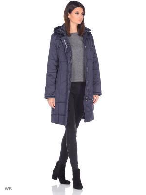 Пальто JULIA Maritta. Цвет: синий