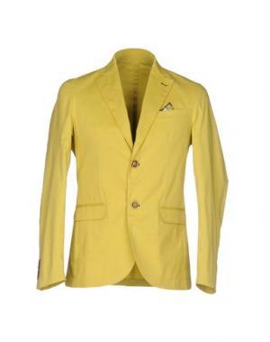 Пиджак ROBERTO PEPE. Цвет: кислотно-зеленый
