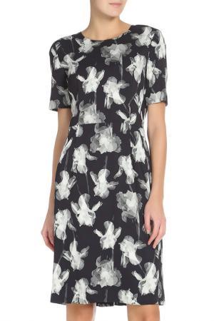 Платье Paul Smith. Цвет: темно- синий, серый