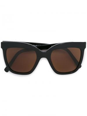 Солнцезащитные очки Lecinqaspet Zanzan. Цвет: чёрный